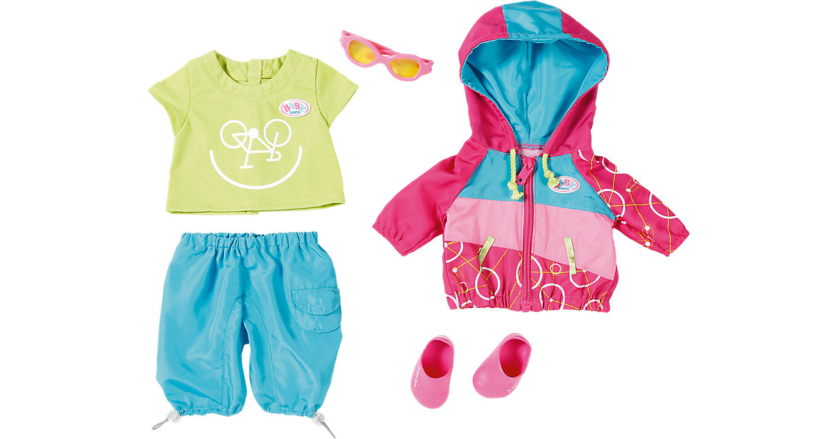 BABY born® Puppenkleidung Play&Fun Fahrrad Outfit, 43 cm