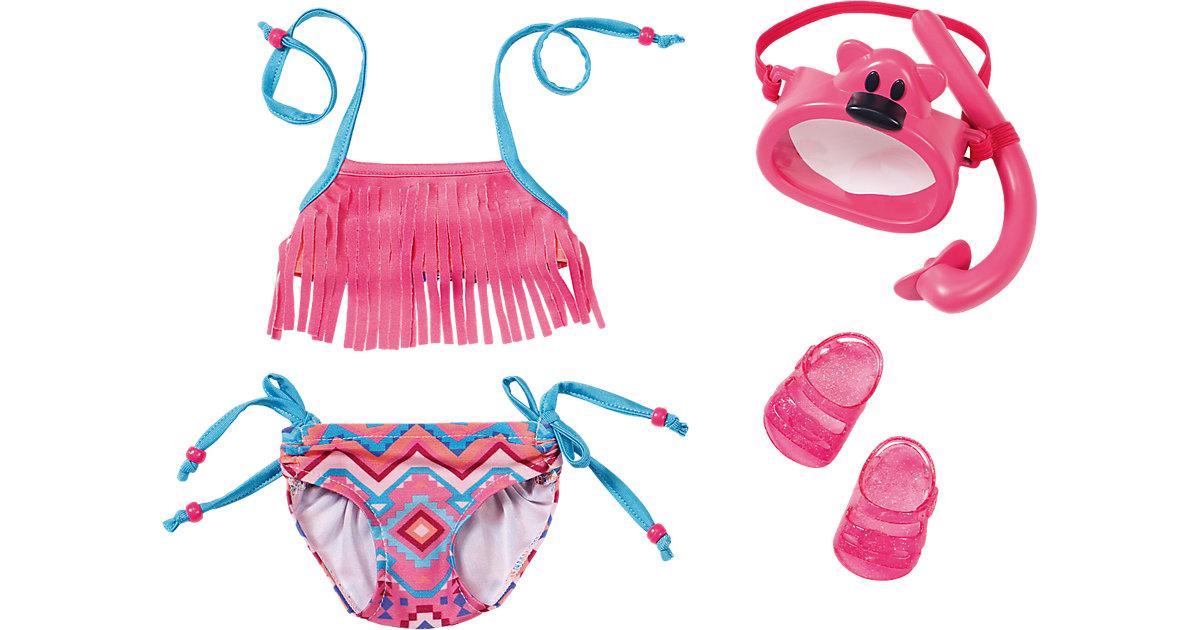 BABY born® Puppenkleidung Play&Fun Deluxe Schwimm Set mit Puppenzubehör