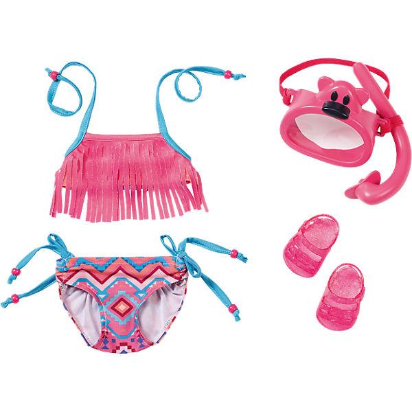 BABY born® Puppenkleidung Play&Fun Deluxe Schwimm Set mit Puppenzubehör, BABY born®