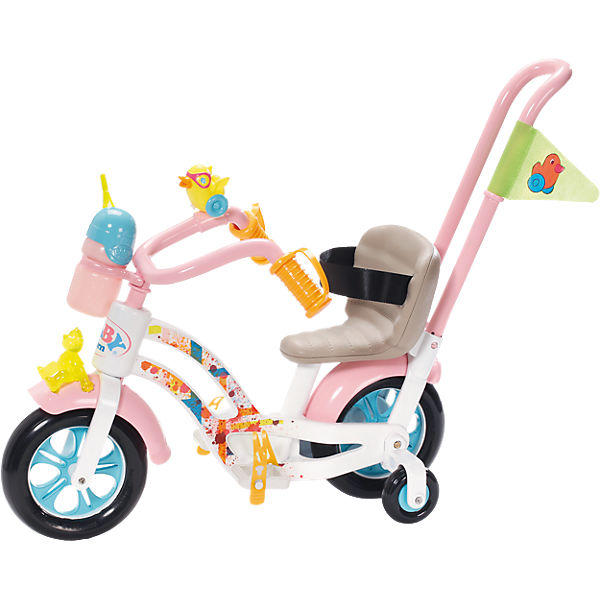 baby born puppenzubeh r play fun fahrrad baby born mytoys. Black Bedroom Furniture Sets. Home Design Ideas