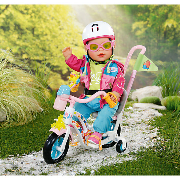 baby born puppenzubeh r play fun fahrrad baby born mytoys. Black Bedroom Furniture Sets. Home Design Ideas