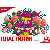 Пластилин «Классика»  18 цветов, 20 г