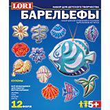 Набор для отливки барельефов «Кулоны», LORI