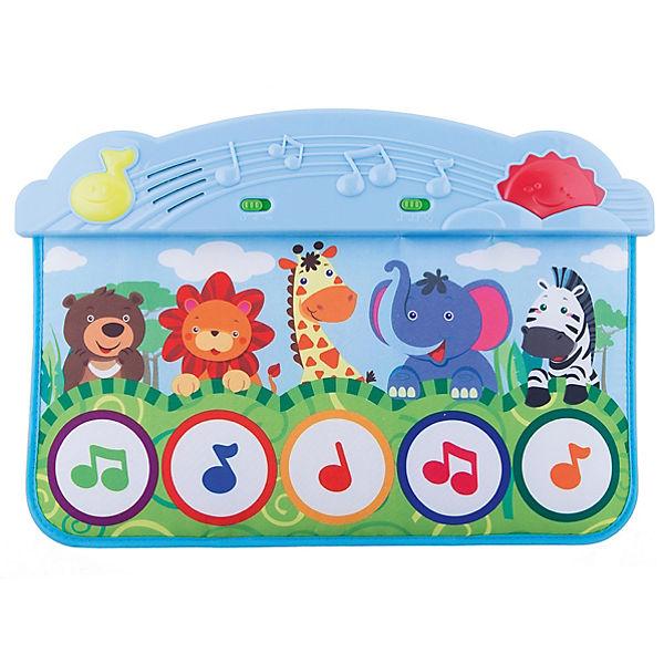 Музыкальный коврик «Весёлый зоопарк», Жирафики