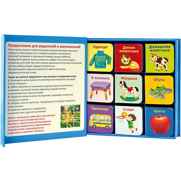 """Набор книжек-кубиков """"Мини-книжки для малыша"""", 9 книг"""
