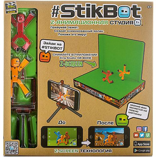 Анимационная студия-PRO, Stikbot от Zing