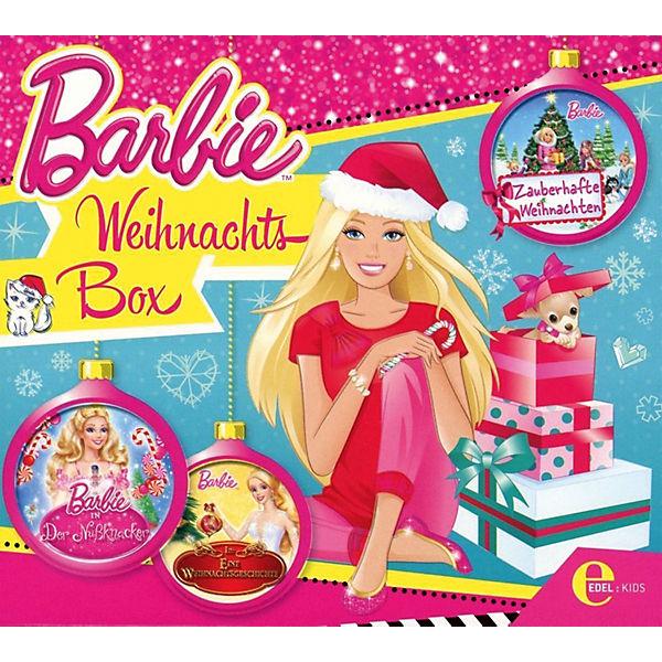 Barbie Zauberhafte Weihnachten 2019.Cd Barbie Weihnachts Box 3 Cd S Barbie