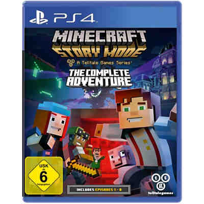 PS4 Minecraft Story Mode - The Complete Adventure