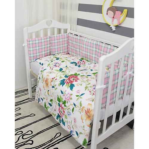 Детское постельное белье 3 предмета By Twinz, Колибри от byTwinz