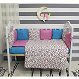 Комплект в кроватку 6 предметов By Twinz, Лаванда