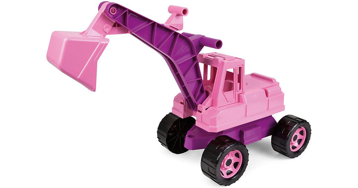 GIGA TRUCKS Sitzbagger, rosa, ca. 70 cm