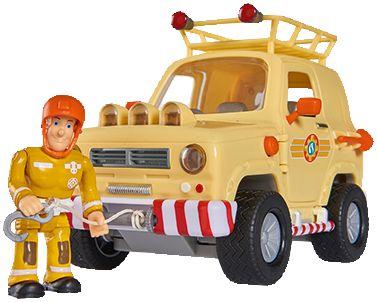 Feuerwehrmann Sam Feuerwehrauto Venus mit Figur und Simba 109257656 Film- & TV-Spielzeug