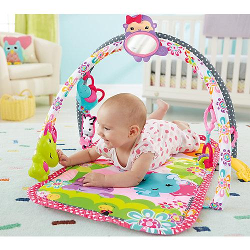 Mattel 3-in-1 Musikspaß Spieldecke, pink