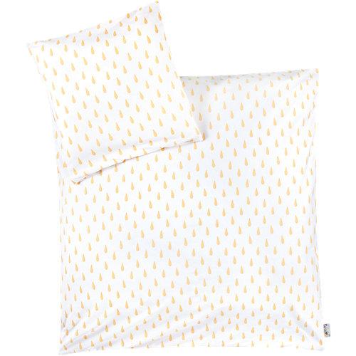 Zöllner Babybettwäsche, Tröpfchen gelb, 80 x cm Sale Angebote Briesen