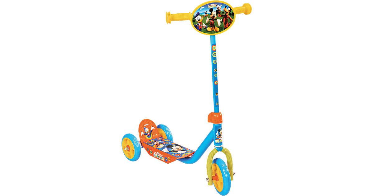 Mickey Mouse Roller, 3 Räder mehrfarbig