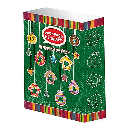 """Набор для раскрашивания """"Раскрась и подари"""" - Елочные игрушки Бумбарам от Бумбарам"""