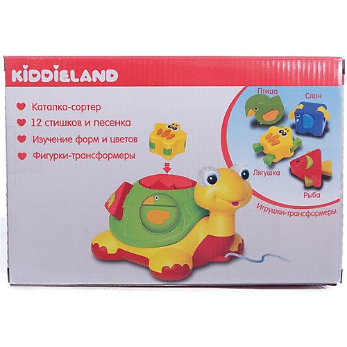 Игровая каталка - сортер Черепаха, Kiddieland от Kiddieland