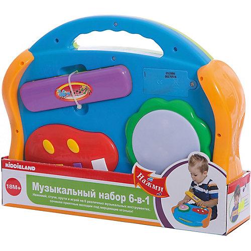 """Развивающая игрушка """"Музыкальные инструменты"""" 6 в 1, Kiddieland от Kiddieland"""