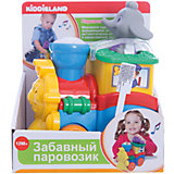 """Развивающая игрушка """"Паровозик со слоненком"""", Kiddieland"""