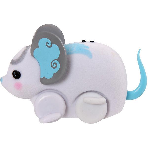 Интерактивная мышка в колесе, белая, Little Live Pets