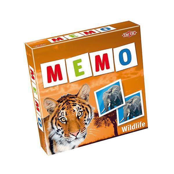 """Мемо """"Дикие животные"""" Tactic Games"""