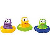 Набор игрушек для ванны BKids Плавающие лягушки