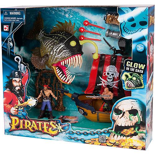 Игровой набор Chap Mei Пираты. Атака рыбы-удильщика от Chap Mei