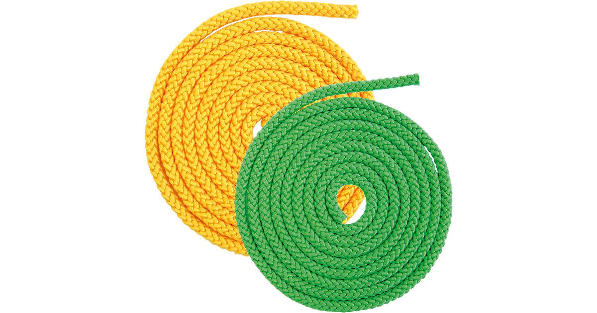 Uniseil, 2er-Set - 2,5 m, gelb/grün
