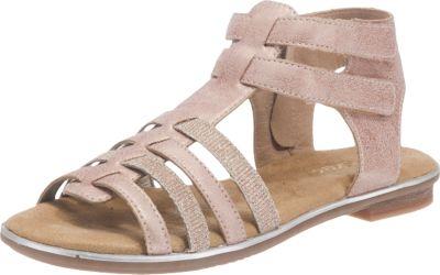 rieker, Sandalen für Mädchen, rosa