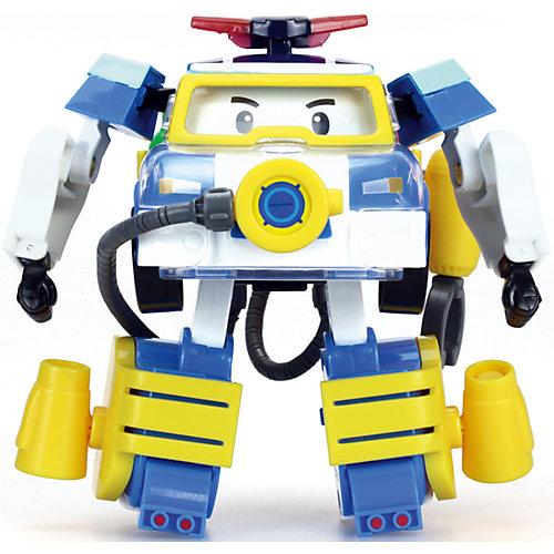 """Трансформер и костюм водолаза """"Поли"""", 10 см, Робокар Поли от Silverlit"""