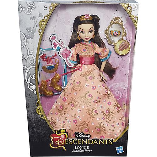 Кукла Лони, светлые герои в платьях для коронации, Наследники, Disney от Hasbro