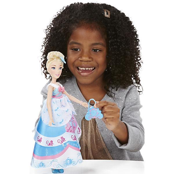 Кукла Золушка в  платье со сменными юбками, Принцессы Дисней, B5312/B5314