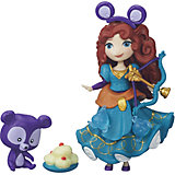"""Игровой набор """"Маленькая кукла Принцесса и ее друг"""" Мерида и медвежонок, B5331/B5332"""
