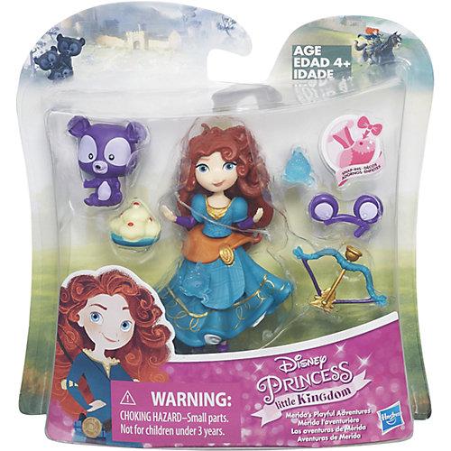 """Игровой набор """"Маленькая кукла Принцесса и ее друг"""" Мерида и медвежонок, B5331/B5332 от Hasbro"""