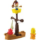 Игровой набор, Fisher Price, Джейк и пираты Нетландии. Корабль-обучающая станция