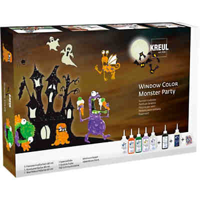 Window Color Monster Party Set