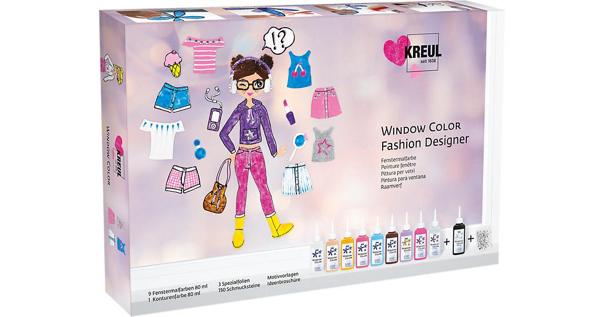 Window Color Fashion Designer Set
