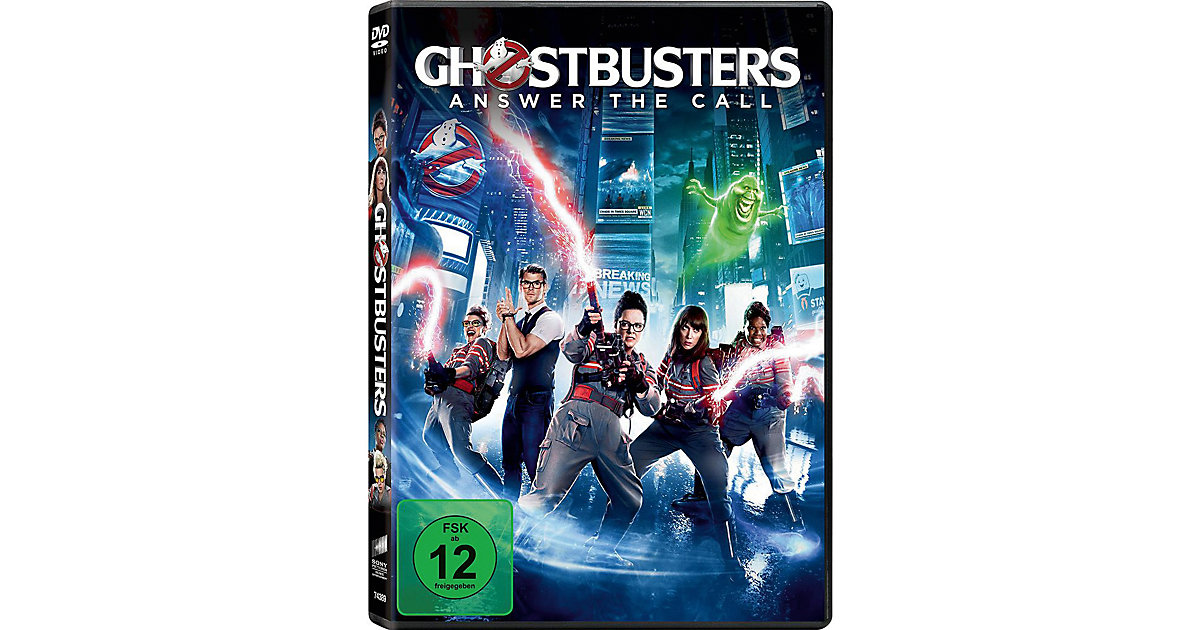 DVD Ghostbusters (2016)