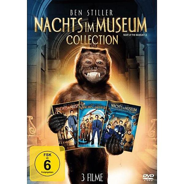 DVD Nachts im Museum 1-3,
