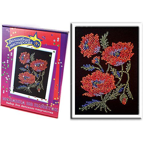Мозаика из пайеток Маки от Волшебная мастерская