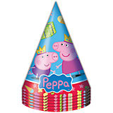 """Колпачок """"Пеппа Принцесса"""" 6 шт, Свинка Пеппа"""