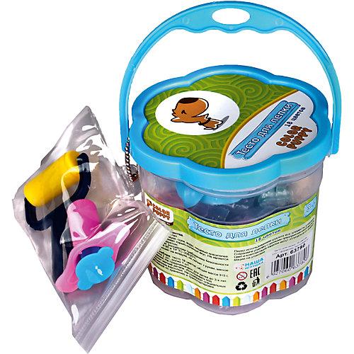 Тесто для лепки: 18 цветов, 315г, формочки, инструменты от Color Puppy