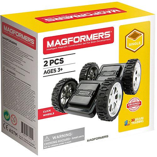 Колеса для конструктора MAGFORMERS Click Wheels от MAGFORMERS