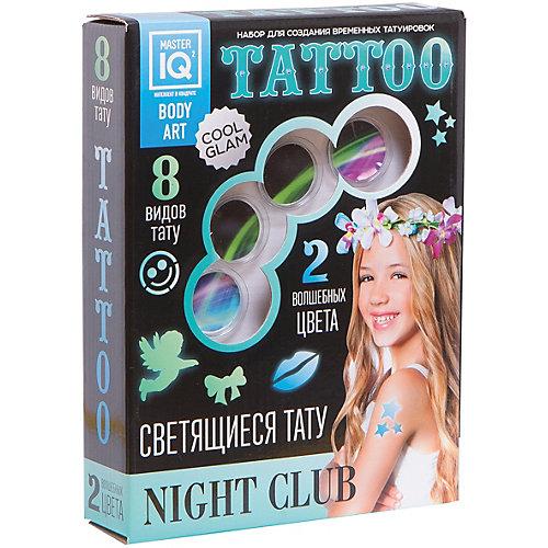 Набор для временных татуировок NIGHT СLUB (светящиеся) от Master IQ2