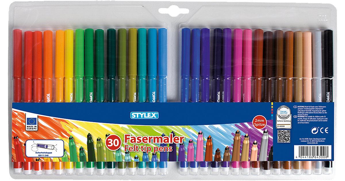 Filzstifte, 30 Farben