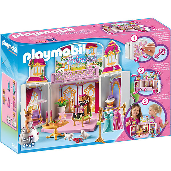 PLAYMOBIL® 4898 Aufklapp-Spiel-Box Königsschloss, PLAYMOBIL Princess