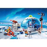 Конструктор Playmobil Штаб-квартира арктической экспедиции, 30 деталей