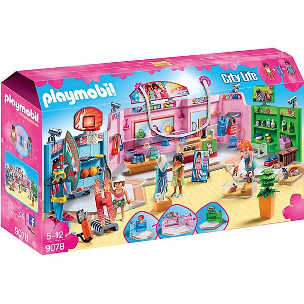 PLAYMOBIL® 9078 Einkaufspassage, PLAYMOBIL City Life