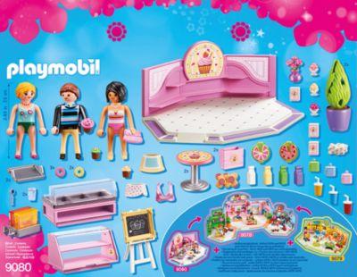 Mehr als 5 Jahre Playmobil City life 9080 Cafe Cupcake