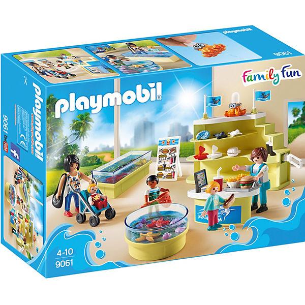 Playmobil 9061 Aquarium Shop Playmobil Family Fun Mytoys